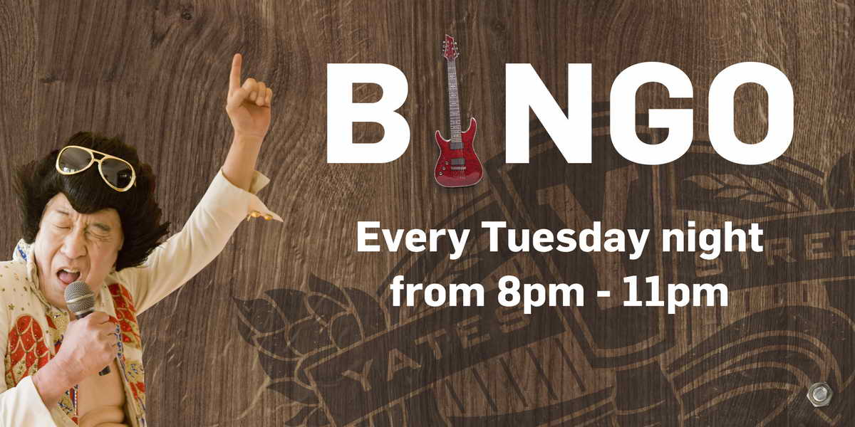 Fun Things To Do In Victoria At Night: Music Bingo Every Tuesday Night